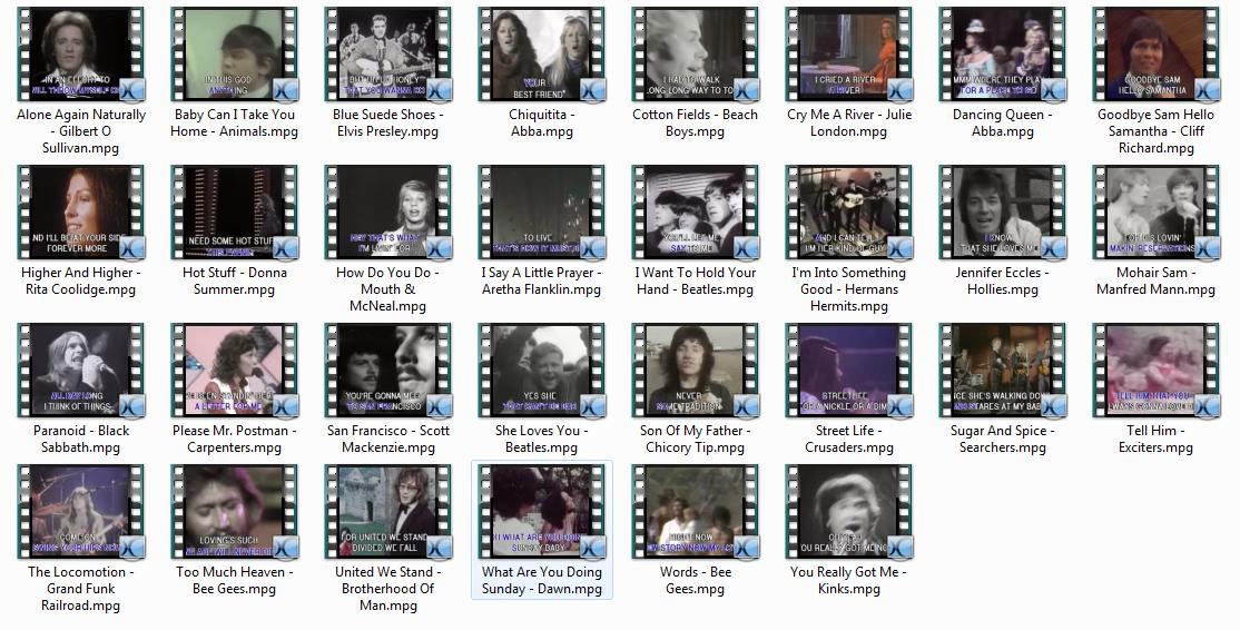4980 Karaoke Original Footage Vol.10 - 12 (.mpg)