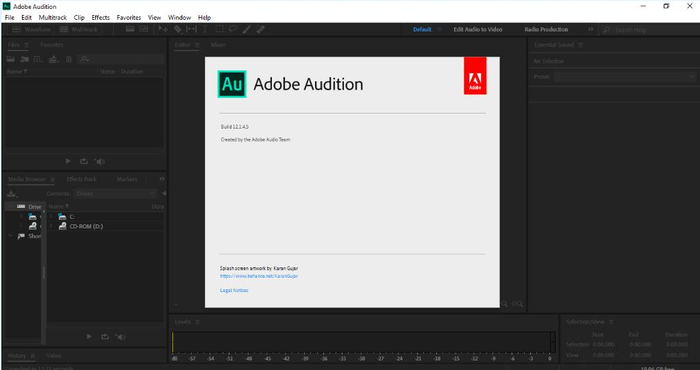 5377 Adobe Audition 2019 v12.1.4.5 x64 ไม่ต้อง Crack