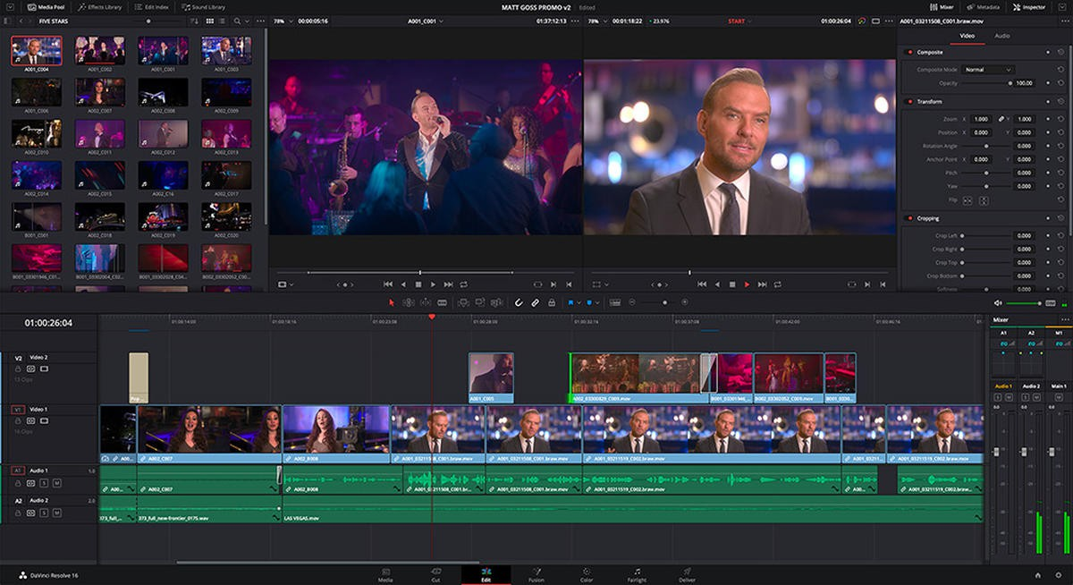 5380 Blackmagic Design DaVinci Resolve Studio 16.0.0.60