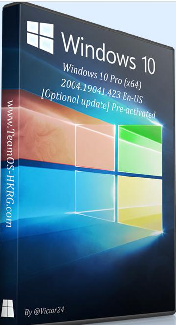 6201 Windows 10 Pro (x64) 2004.19041.423 English-US  Pre-activated